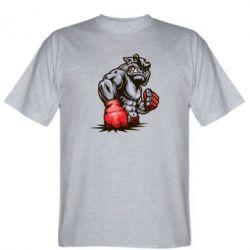 Мужская футболка Bulldog MMA - FatLine