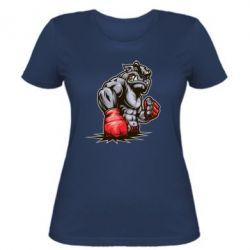 Женская футболка Bulldog MMA - FatLine