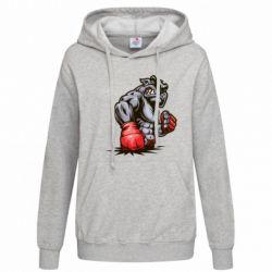 Женская толстовка Bulldog MMA - FatLine