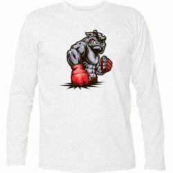 Футболка с длинным рукавом Bulldog MMA - FatLine