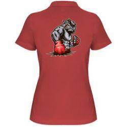 Женская футболка поло Bulldog MMA - FatLine