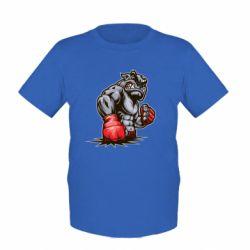 Детская футболка Bulldog MMA - FatLine