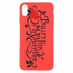 Чохол для iPhone X/Xs Bullet For My Valentine