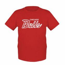 Детская футболка Bulls from Chicago - FatLine