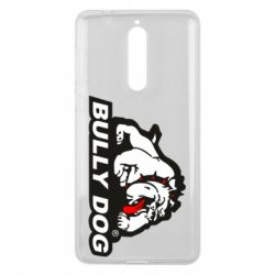 Чехол для Nokia 8 Bully dog - FatLine