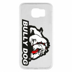 Чехол для Samsung S6 Bully dog - FatLine
