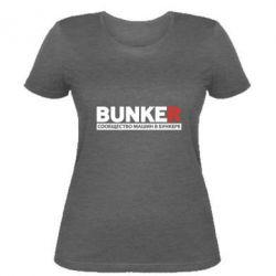 Женская футболка Bunker