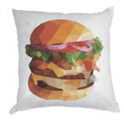 Подушка Burger Poly Art
