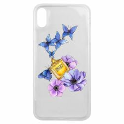 Чохол для iPhone Xs Max Butterflies and perfumes