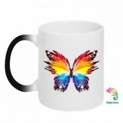 Кружка-хамелеон Butterfly