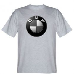 Мужская футболка BMW Black & White - FatLine