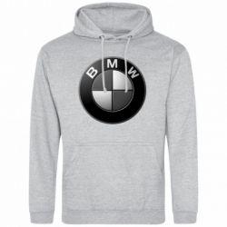 Мужская толстовка BMW Black & White - FatLine