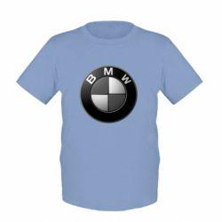 Детская футболка BWM Black & White - FatLine