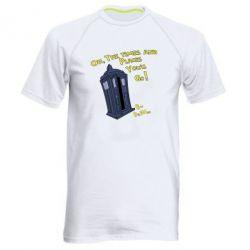 Мужская спортивная футболка By Dr. Who