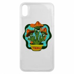 Чохол для iPhone Xs Max Cacti with Tequila inscription