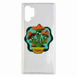 Чохол для Samsung Note 10 Plus Cacti with Tequila inscription