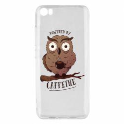Чохол для Xiaomi Mi5/Mi5 Pro Caffeine Owl