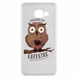 Чохол для Samsung A3 2016 Caffeine Owl