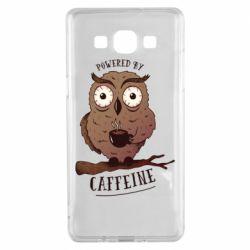 Чохол для Samsung A5 2015 Caffeine Owl