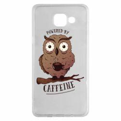 Чохол для Samsung A5 2016 Caffeine Owl