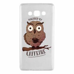 Чохол для Samsung A7 2015 Caffeine Owl