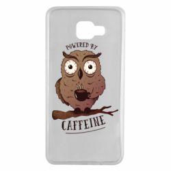 Чохол для Samsung A7 2016 Caffeine Owl