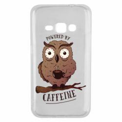 Чохол для Samsung J1 2016 Caffeine Owl