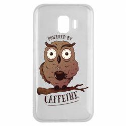 Чохол для Samsung J2 2018 Caffeine Owl