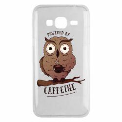 Чохол для Samsung J3 2016 Caffeine Owl