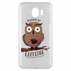 Чохол для Samsung J4 Caffeine Owl