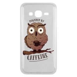 Чохол для Samsung J5 2015 Caffeine Owl
