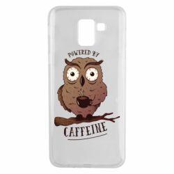 Чохол для Samsung J6 Caffeine Owl