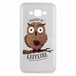 Чохол для Samsung J7 2015 Caffeine Owl