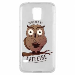 Чохол для Samsung S5 Caffeine Owl