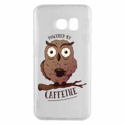 Чохол для Samsung S6 EDGE Caffeine Owl