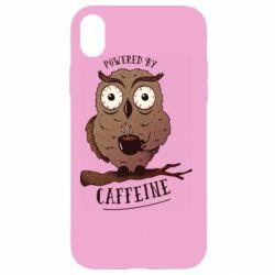 Чохол для iPhone XR Caffeine Owl