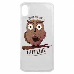 Чохол для iPhone Xs Max Caffeine Owl