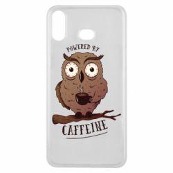 Чохол для Samsung A6s Caffeine Owl