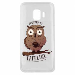 Чохол для Samsung J2 Core Caffeine Owl