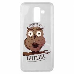 Чохол для Samsung J8 2018 Caffeine Owl