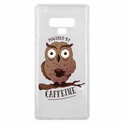Чохол для Samsung Note 9 Caffeine Owl