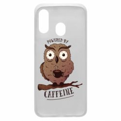 Чохол для Samsung A40 Caffeine Owl