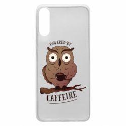 Чохол для Samsung A70 Caffeine Owl