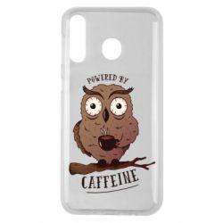 Чохол для Samsung M30 Caffeine Owl