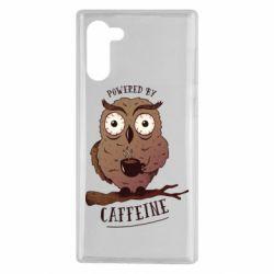 Чохол для Samsung Note 10 Caffeine Owl