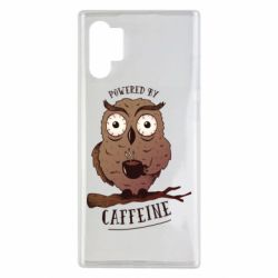 Чохол для Samsung Note 10 Plus Caffeine Owl