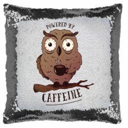 Подушка-хамелеон Caffeine Owl