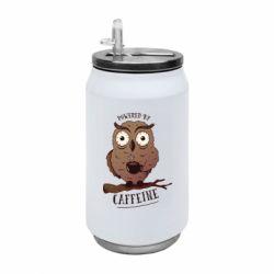 Термобанка 350ml Caffeine Owl