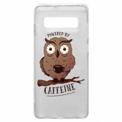 Чохол для Samsung S10+ Caffeine Owl