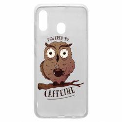 Чохол для Samsung A20 Caffeine Owl
